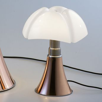 Lampe A Poser Minipipistrello Tactile Led Cuivre H35cm Martinelli Luce Normal Lampe A Poser Lamp Lampe Pipistrello
