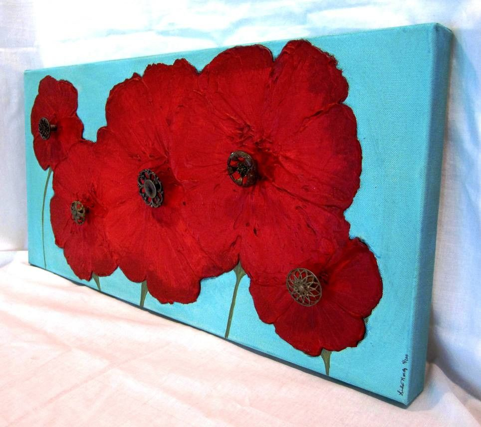 Love red poppies! Such vibrant colors!