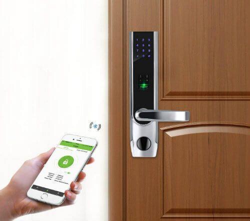 The Best Smart Door Lock System For Home Http Dissectiontable Com Best Smart Door Lock Wifi Bluetooth Key Biometric Door Lock Bluetooth Lock Smart Door Locks
