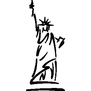 Landmarks - statues, statue of liberty, new york ...