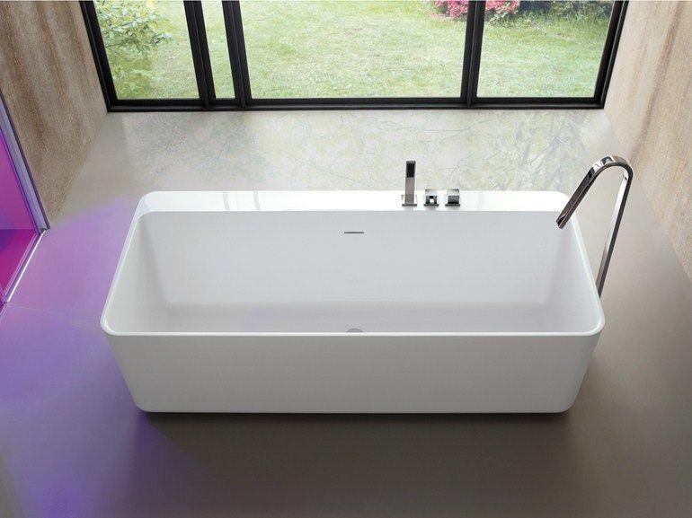 Vasca Da Bagno Freestanding Rettangolare : Tulip vasca da bagno centro stanza by arblu per il bagno nuovo
