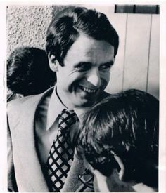 Ted Bundy had manic depression and was living through a time of incredible stress at the time this photograph was taken.