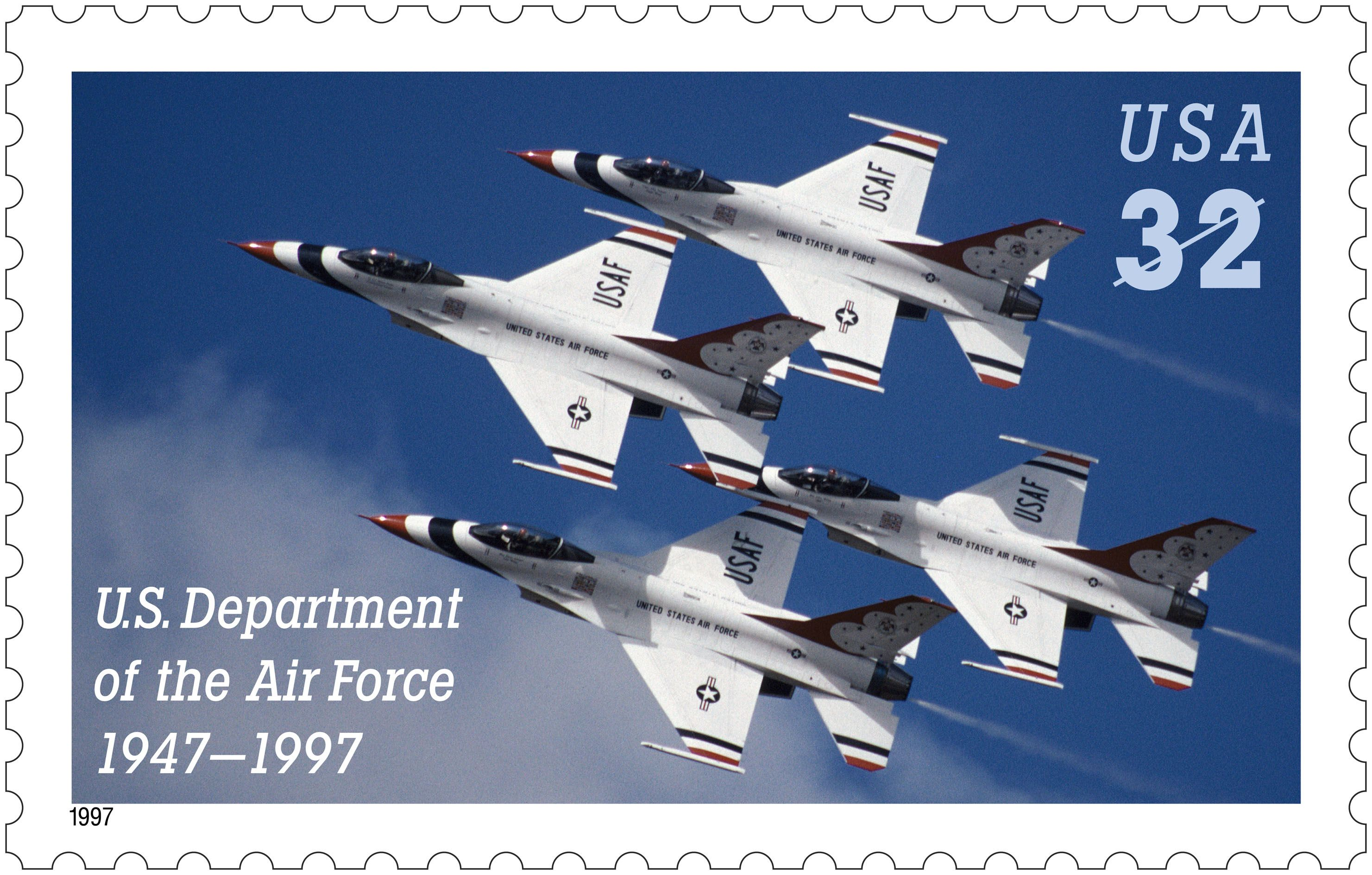 US Stamp The U.S. Army Air Corps became the United
