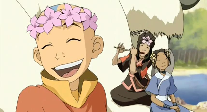 Avatar Aang Feminist Icon Avatar Desenhos E A Lenda De Aang