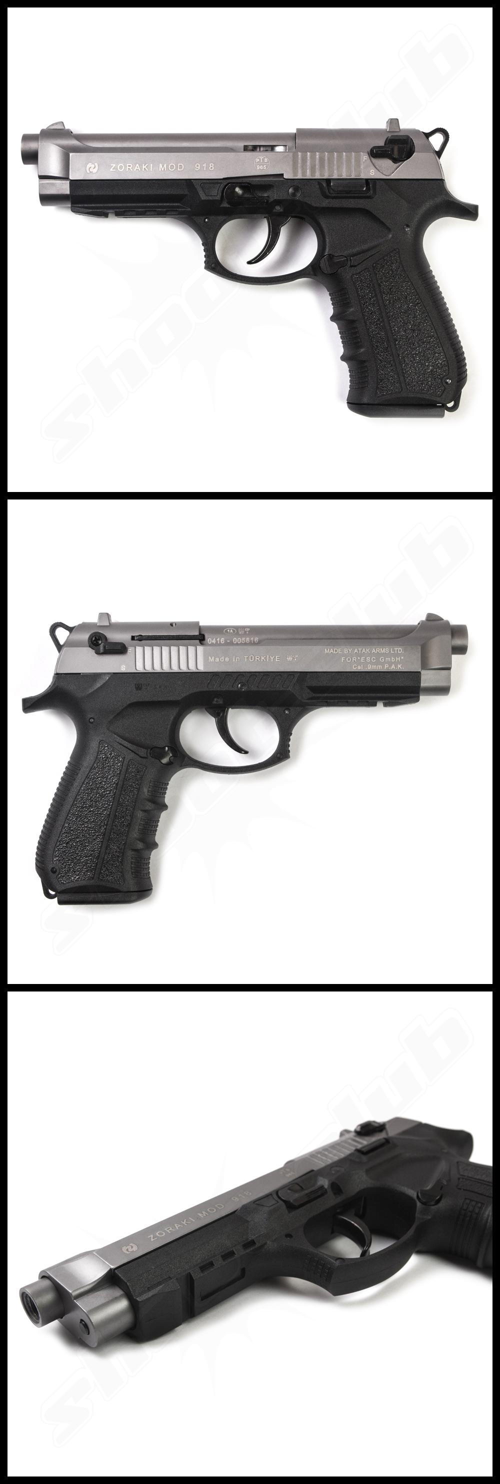 Schreckschusspistole Zoraki 918 Titan im Kal. 9mm P.A.K.  #shootclub #schreckschuss #Pistol