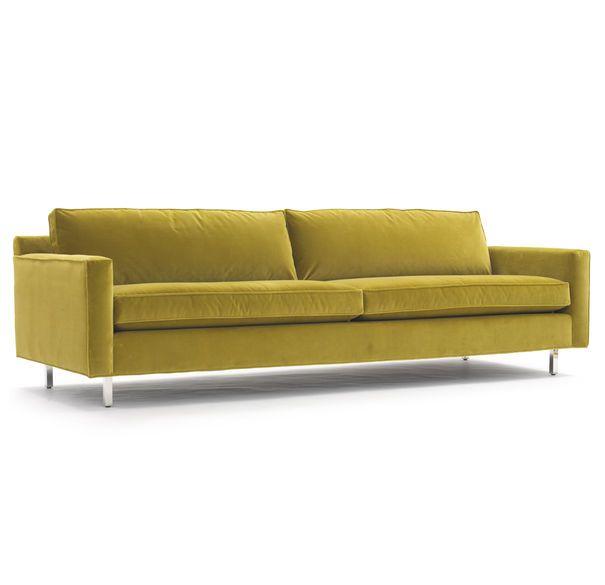 Hunter Sofa Avignon Peridot With Images Comfortable Modern