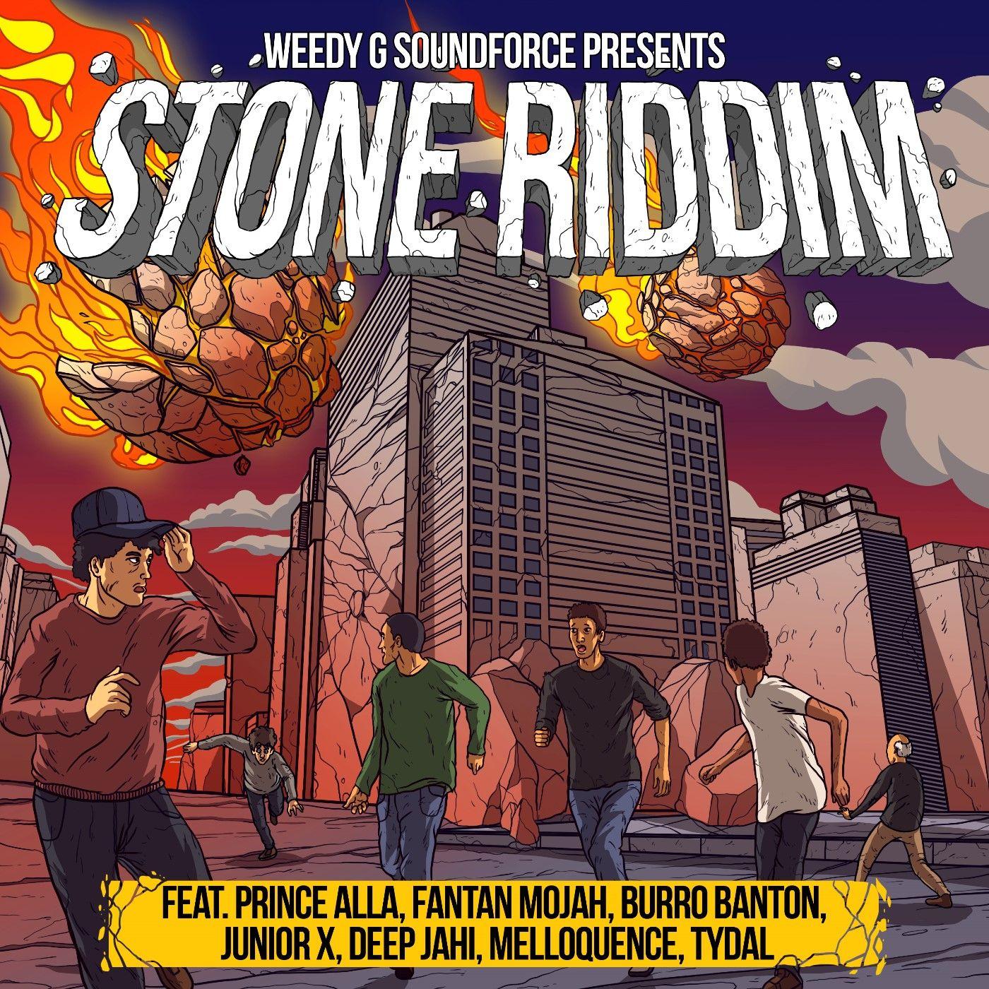 Stone Riddim Weedy G Soundforce Download The Latest Reggae Dancehall Reggae Comic Book Cover Stone