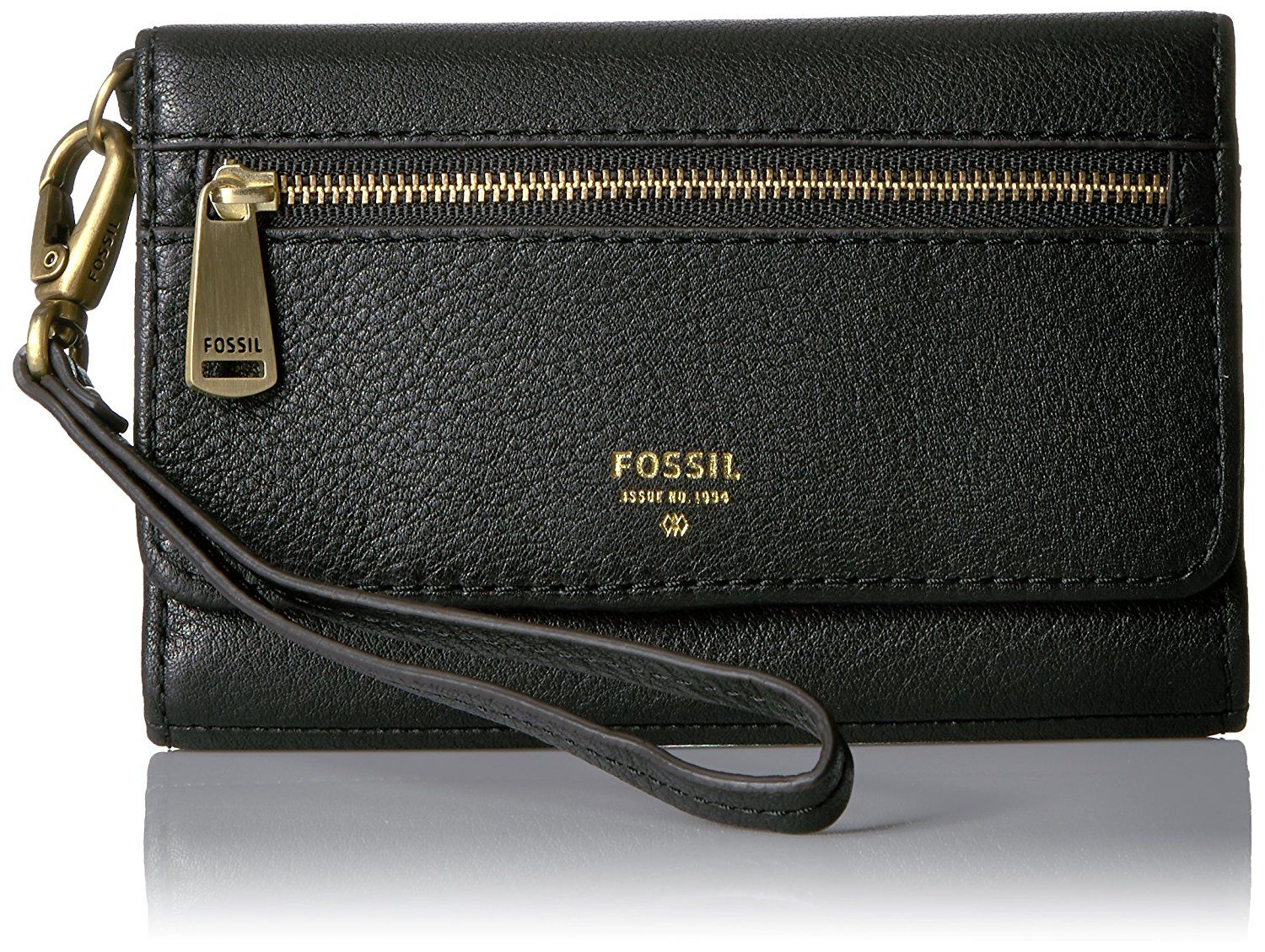 71ec4ac35239 Fossil Women's Brown Leather Emory Wallet in 2019 | Bags & Wallets | Brown leather  wallet, Zip wallet, Leather wallet