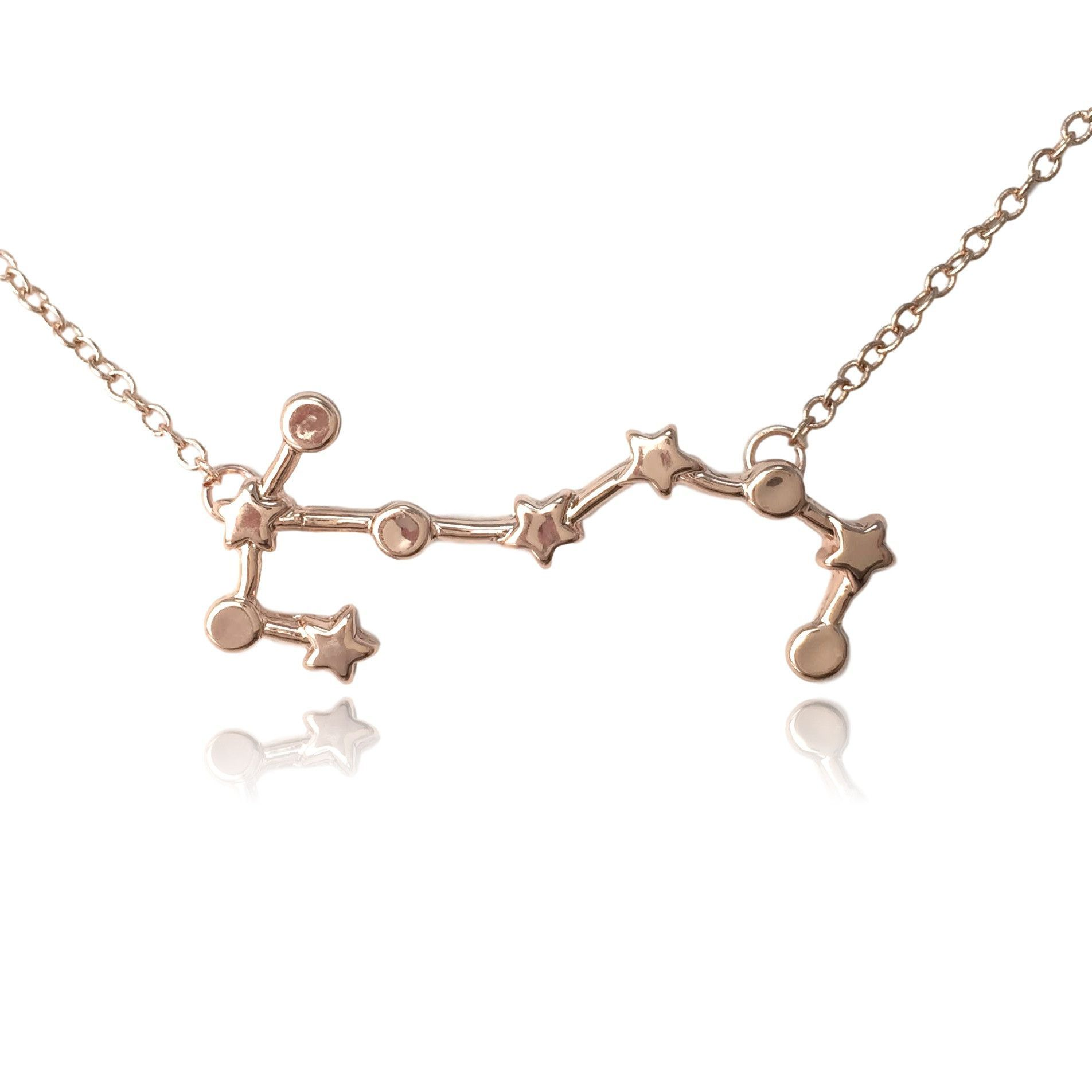 Scorpio Zodiac Constellation Sign Symbol Pendant Necklace Products