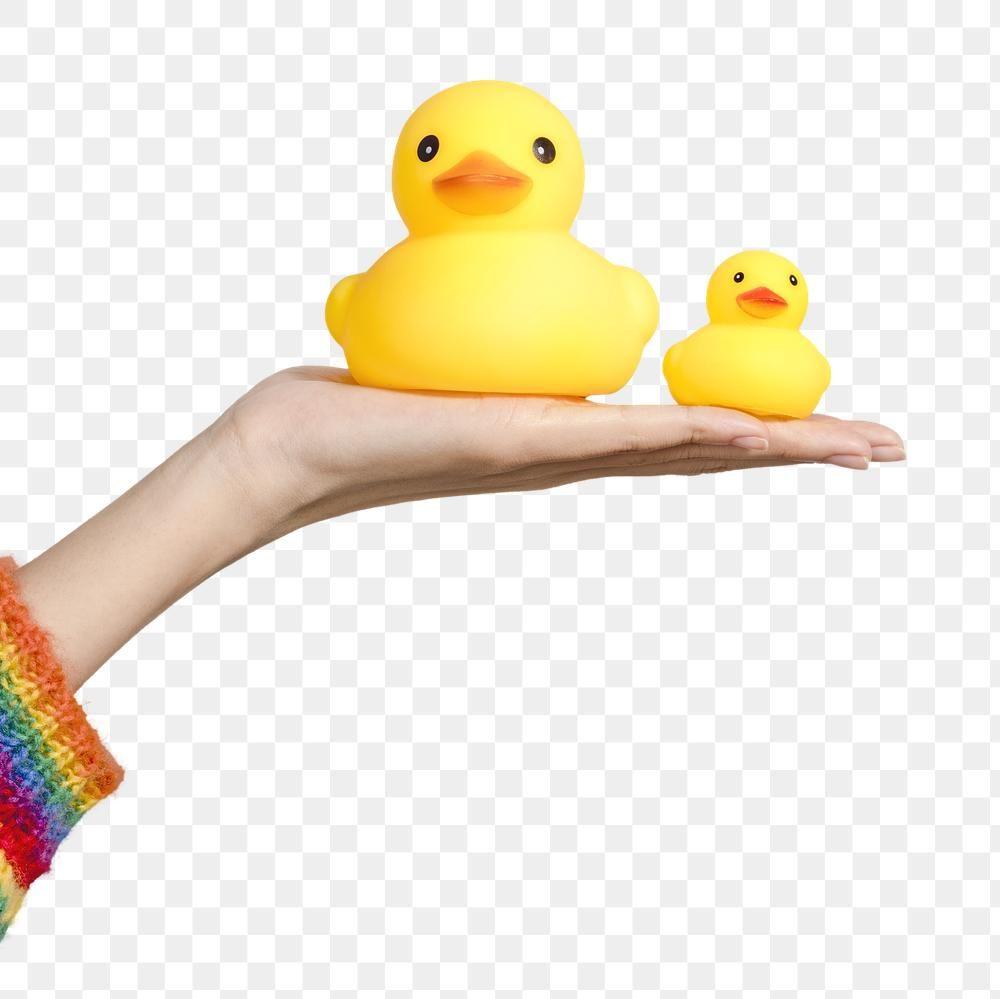 Cute Rubber Ducks On A Hand Design Element Free Image By Rawpixel Com Jira Rubber Duck Duck Design Element