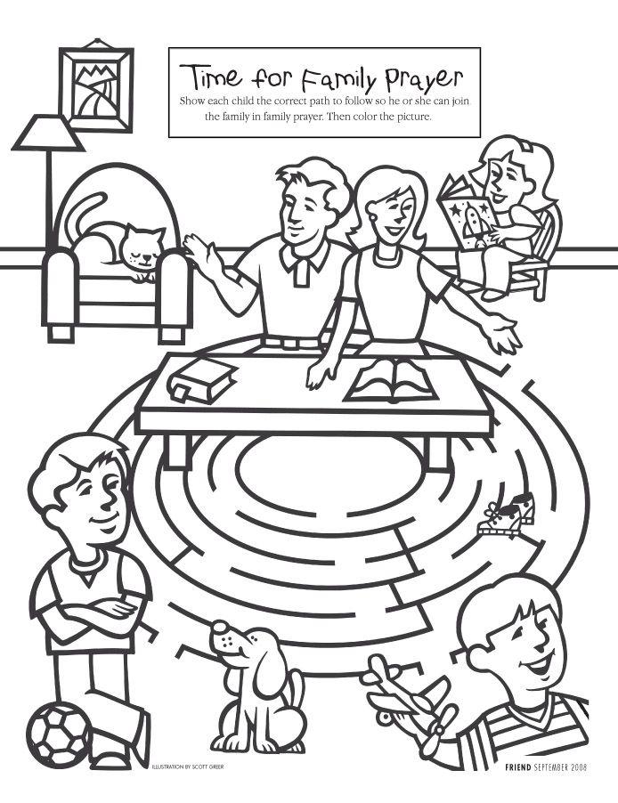 For activity book   Church Ideas   Pinterest   Family prayer, Sunday ...