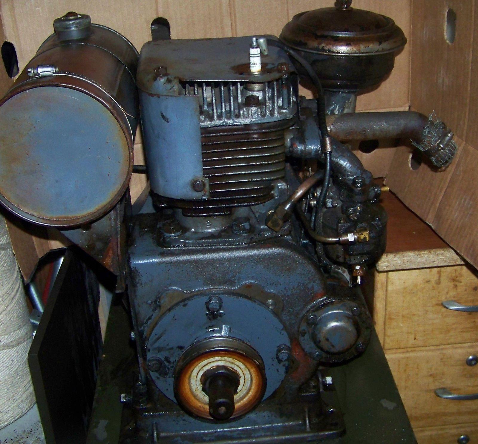 medium resolution of vintage 6hp gas engine wisconsin motor 1940 s runs model aeh freight ebay