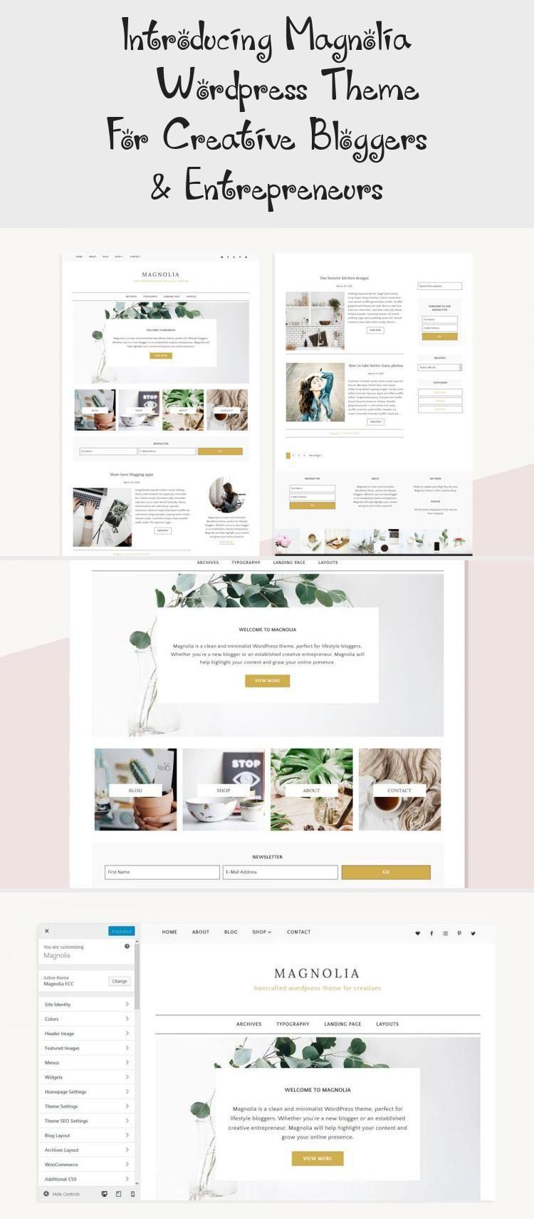 En Blog En Blog In 2020 Minimalist Wordpress Themes Web Design Marketing Web Design Jobs