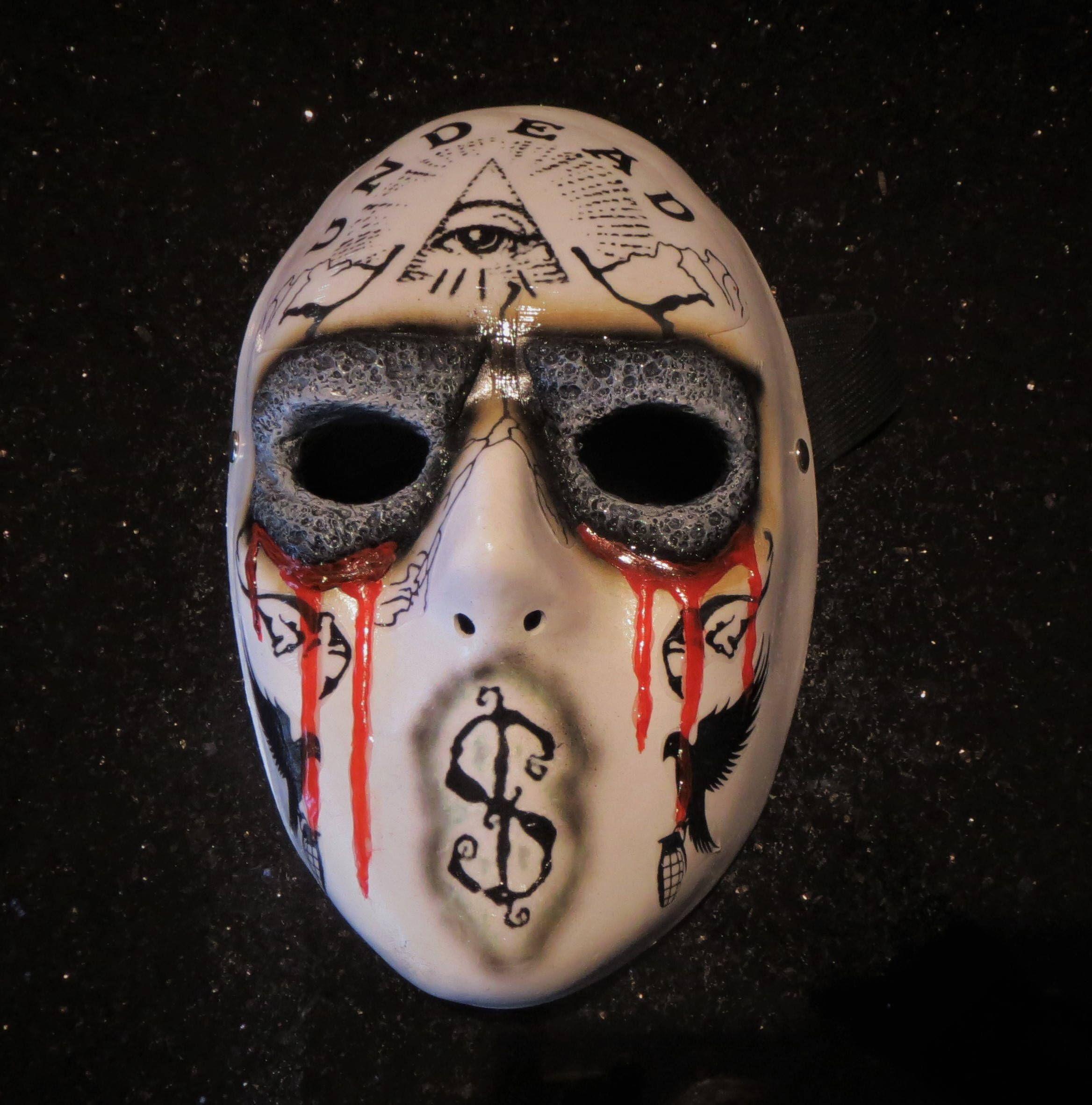hollywood undead jdog mask day of the dead masks