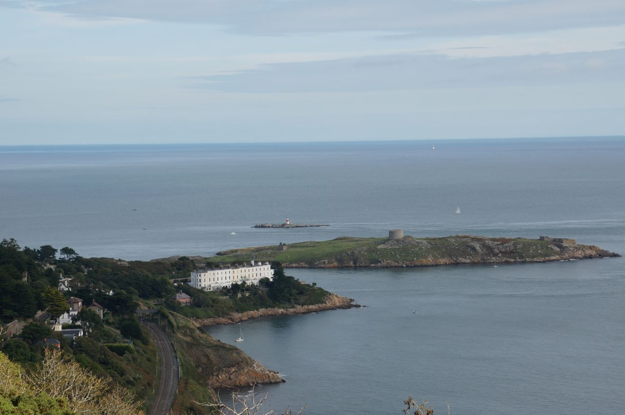 One more spectacular view from Killiney Hill which is 153 meters high.