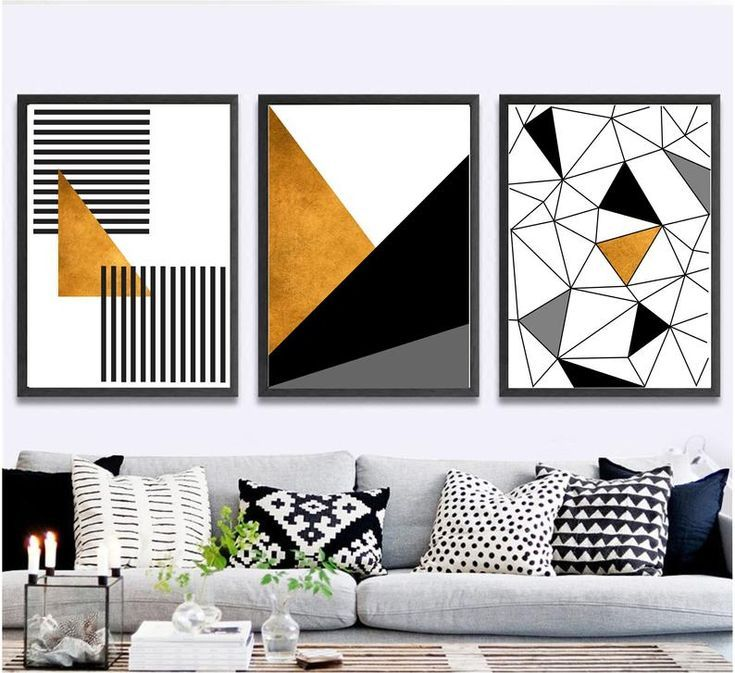 Overstock Com Online Shopping Bedding Furniture Electronics Jewelry Clothing More Geometric Art Diy Wall Art Sets Black And White Wall Art