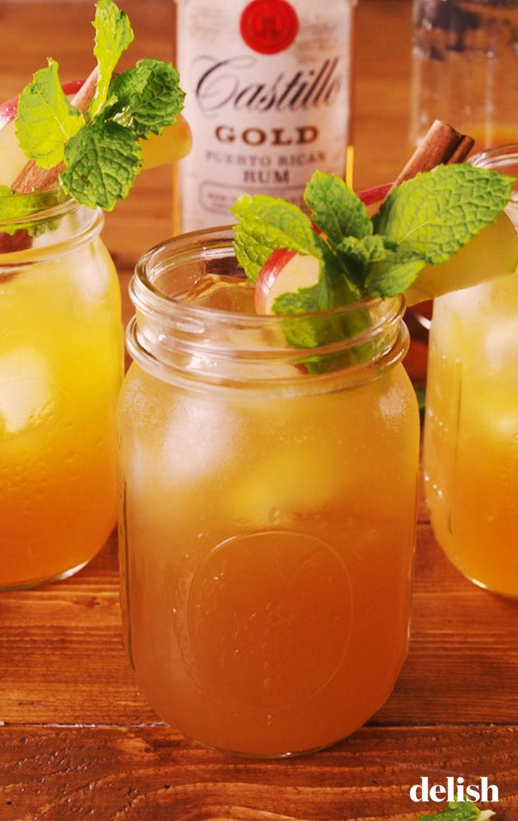 Apple Cider Mojitos - -