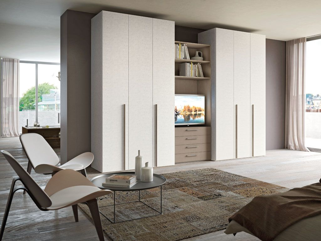 Standalone Closet Design System Combined In One Space For A Look And Feel  That Is Modern