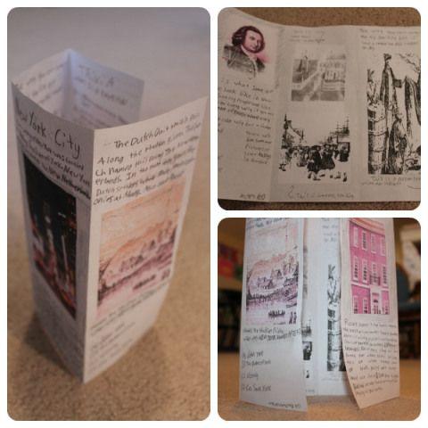 13 Colonies Travel Brochure Travel Brochure Brochures And Social