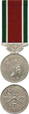 Canadian military decorations and medals General Campaign Service medal - from Al Minhad Air Base 2004