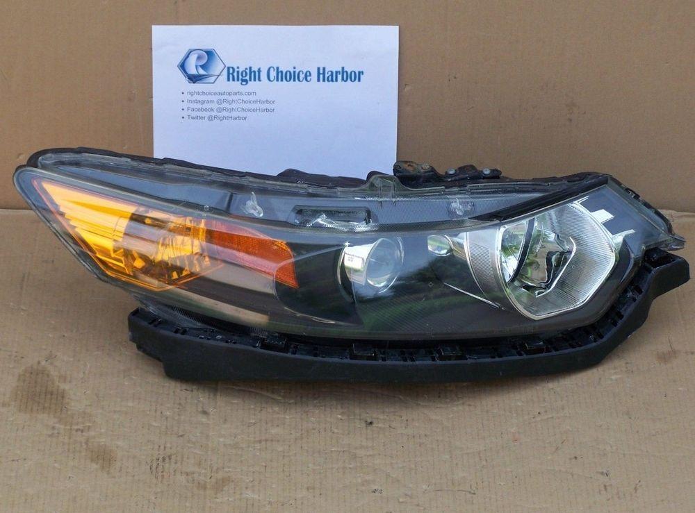 09 14 Acura Tsx Headlight Hid Xenon Assembly Rh Right Oem Acura Acura Tsx Acura Hid Xenon