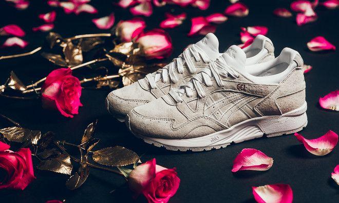 asics beige rose