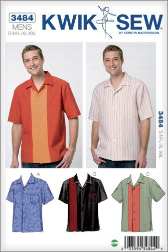 Our favorite Bowling Shirt pattern for Dad! | Gifts For Dad! | Pinterest