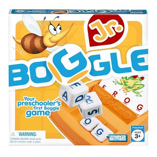 Parker Brothers Boggle Jr. By Hasbro $16.99
