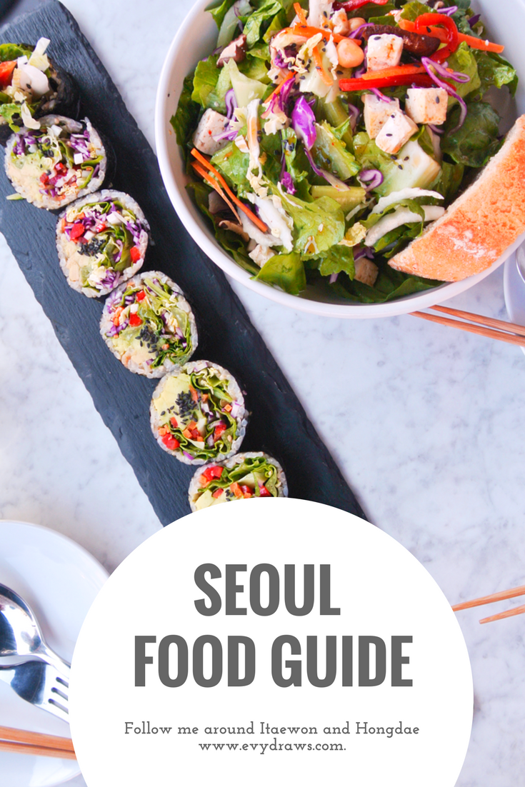 Colorful Weekend In Seoul A Travel Food Diary Evydraws Food Diary Food Travel Food