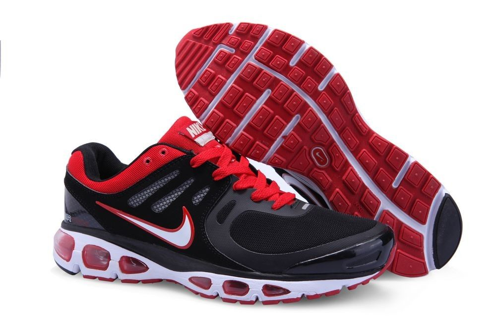 new concept c92b3 78c8d Nike Air Max 2010 Mens Running Shoe 386405 010 BlackRed Nike Tn, Newest