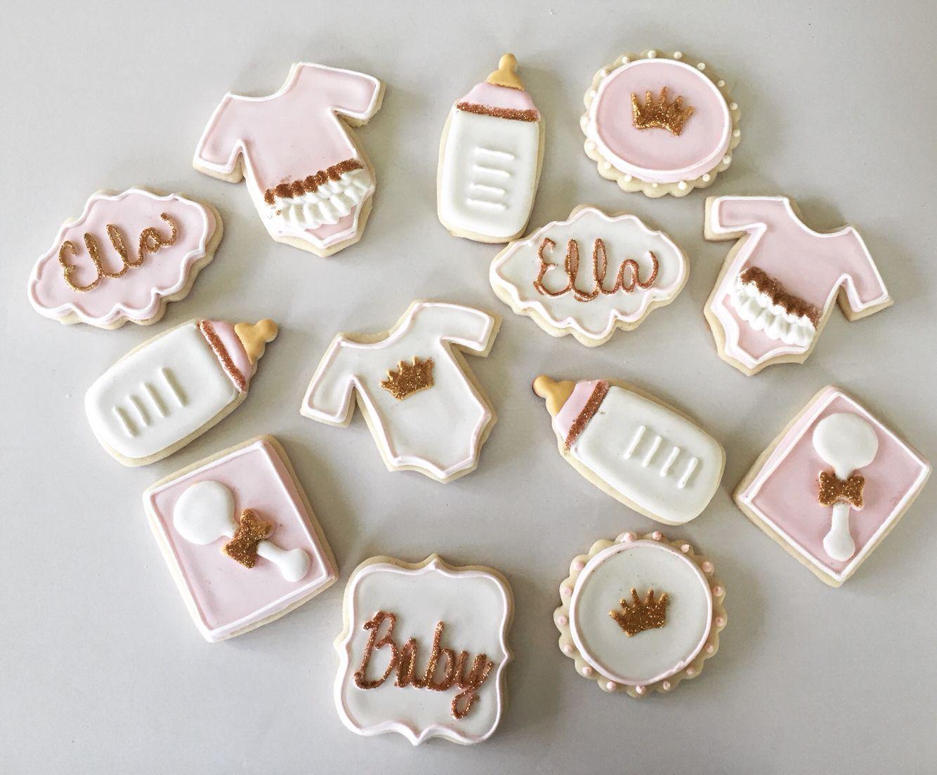 Cinderella Baby Shower Cookies Cinderella Baby Shower Pinterest