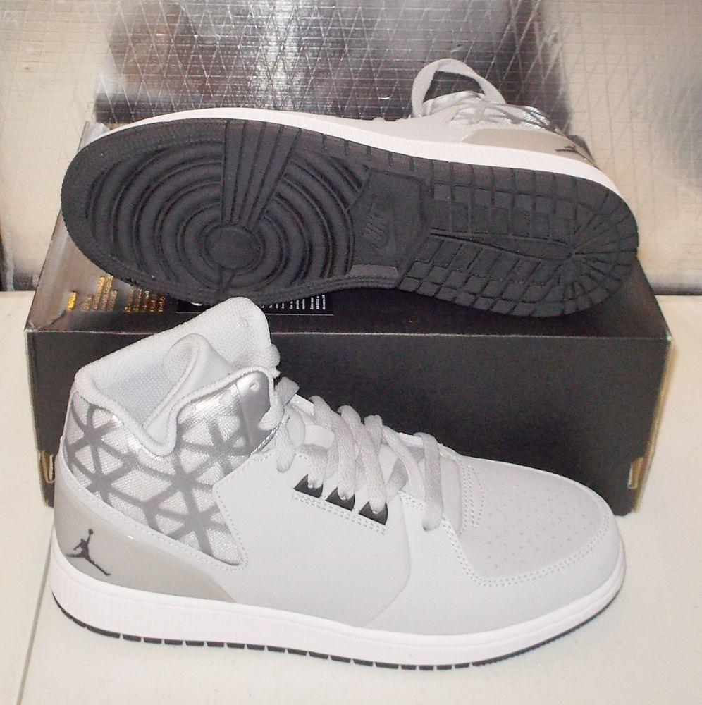 Nike Jordan 1 Flight 3 Bg Womens 7 5 6y Wolf Grey 707320 002 New Nike Jordan Nike Jordan 1 Flight