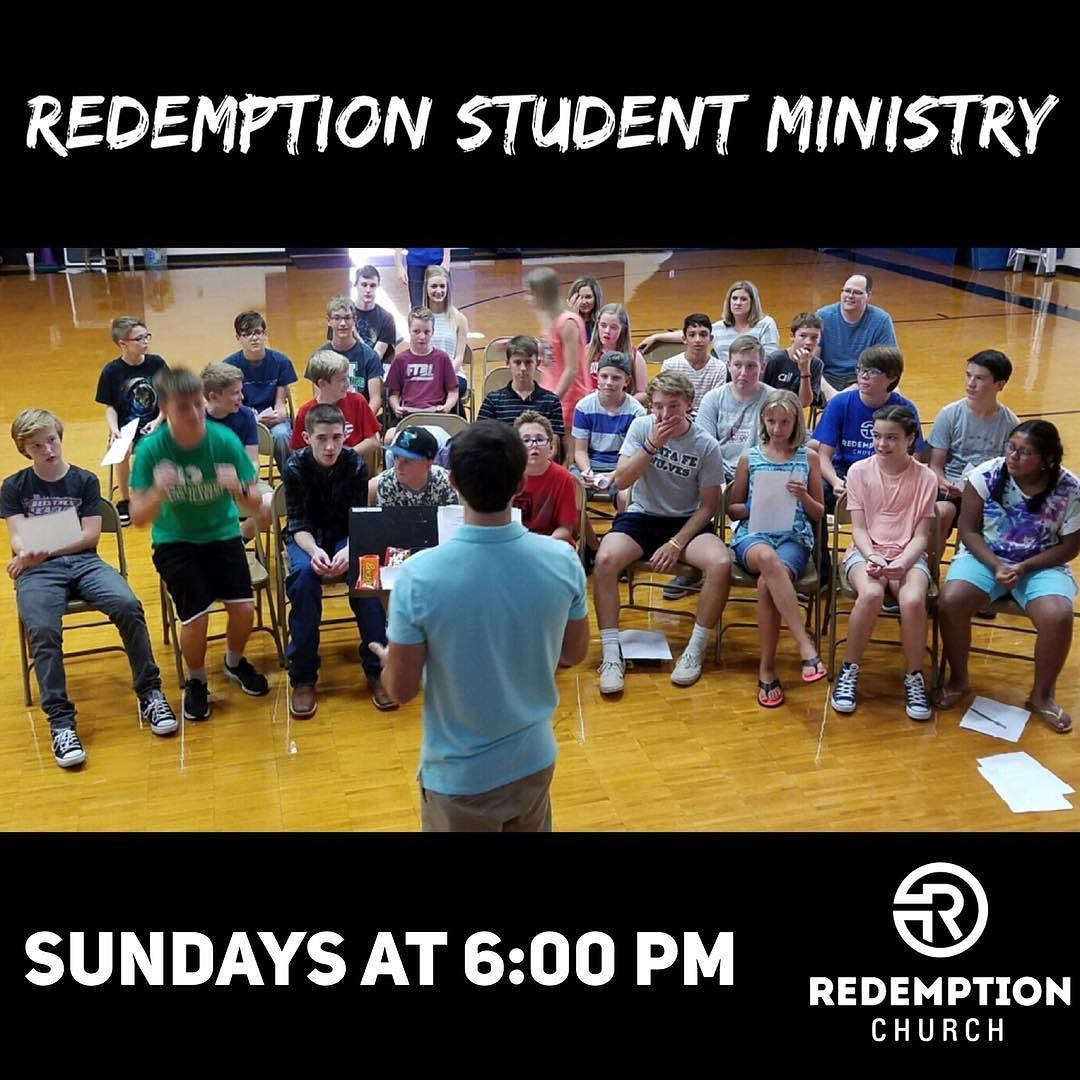 Students! Join us tonight at 6:00 PM for RSM Gathering  Groups in the gym at John Ross Elementary! Doors open at 5:30 PM.  #redemptionstudents #rsm #edmondstudents #edmond #oklahoma #youthgroup