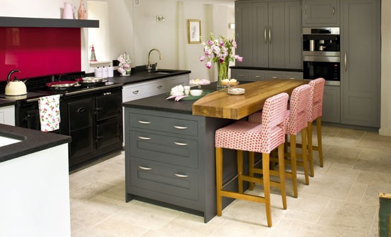 Wyspa Kuchenna Szukaj W Google Shaker Style Kitchens Cottage Style Kitchen Grey Painted Kitchen