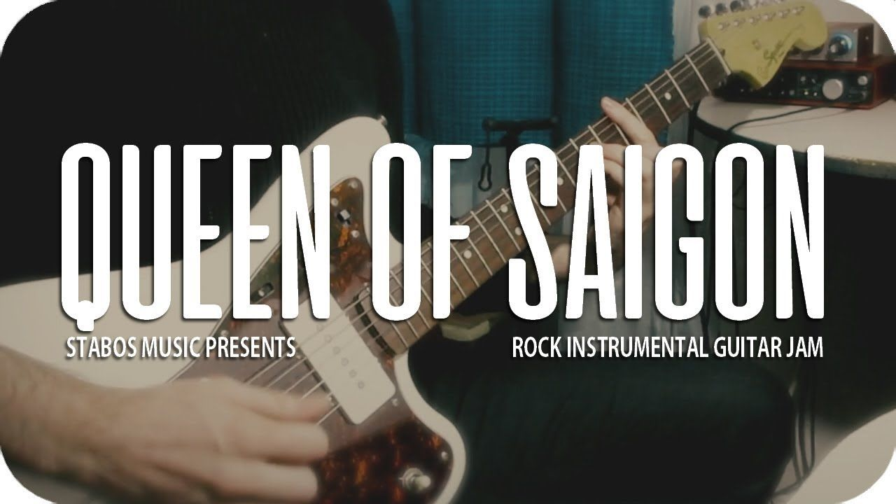 QUEEN OF SAIGON by Stabos | Vintage Rock Instrumental Music Video ...