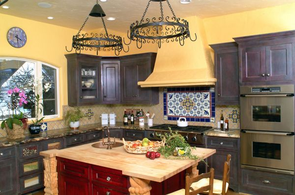 20 Enchanting Mediterranean Kitchen Decors