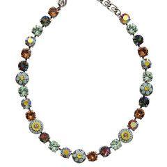 Mariana Warm Coast Flower Shapes Necklace