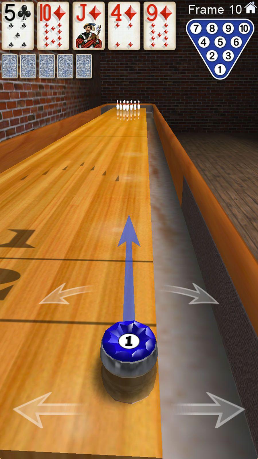 how to play shuffleboard bowling