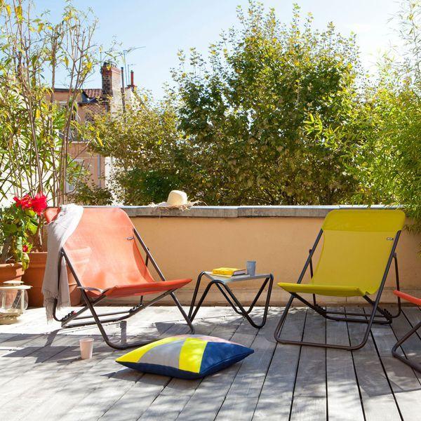 Meuble petite terrasse balcon fauteuil chaise et table for Meuble terrasse exterieur