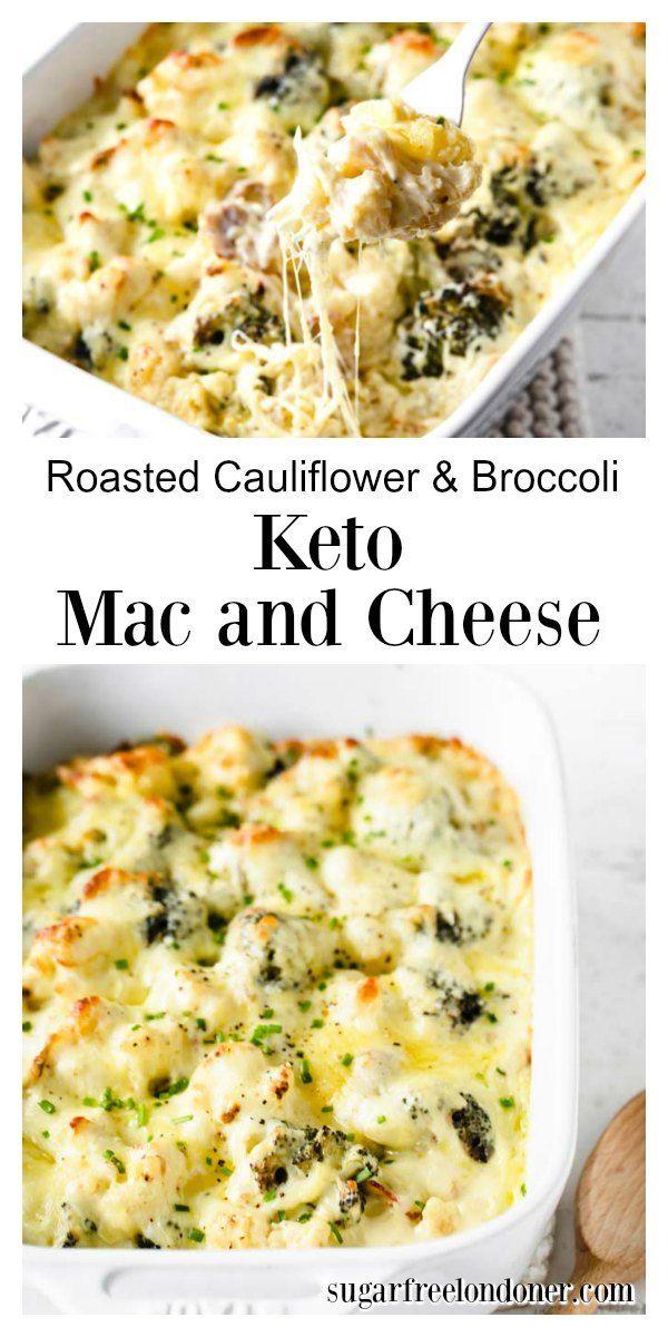 Photo of Keto Cauliflower And Broccoli Mac and Cheese