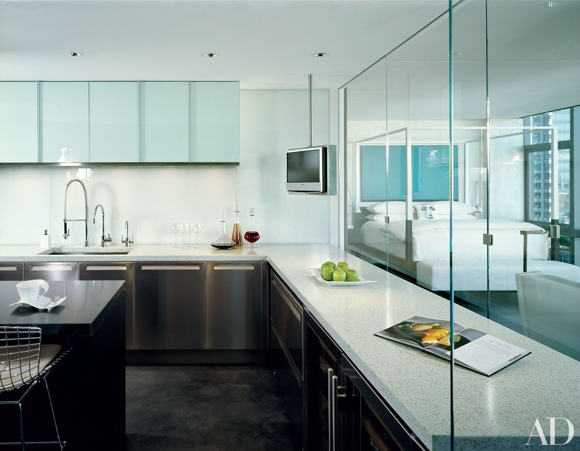 11 Stunning Minimalist Kitchens From The AD Archives | Architectural ...