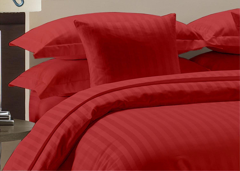 1000 Thread Count Egyptian Cotton Luxury Bedding Items All Sizes Sage Stripe