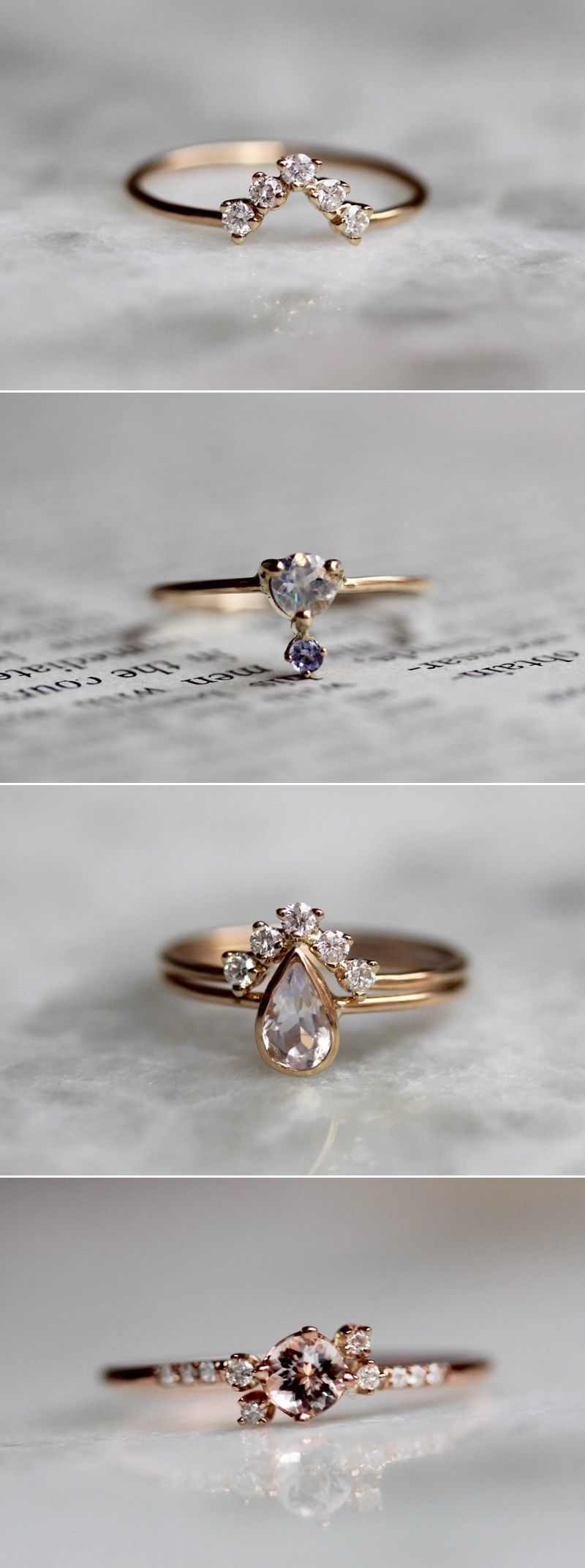 gorgeous alternative engagement rings youull want to say yes to