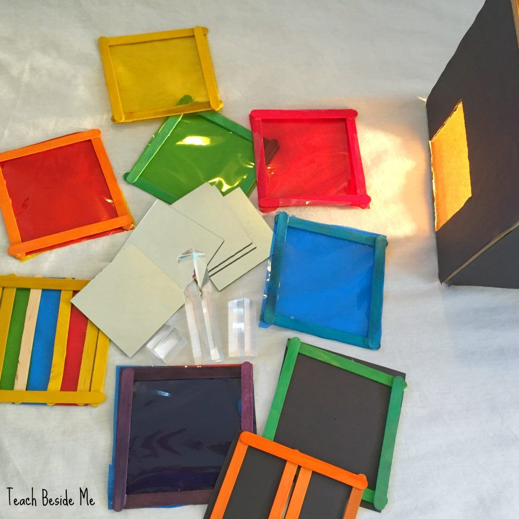 Color And Light Experiments With A Light Box