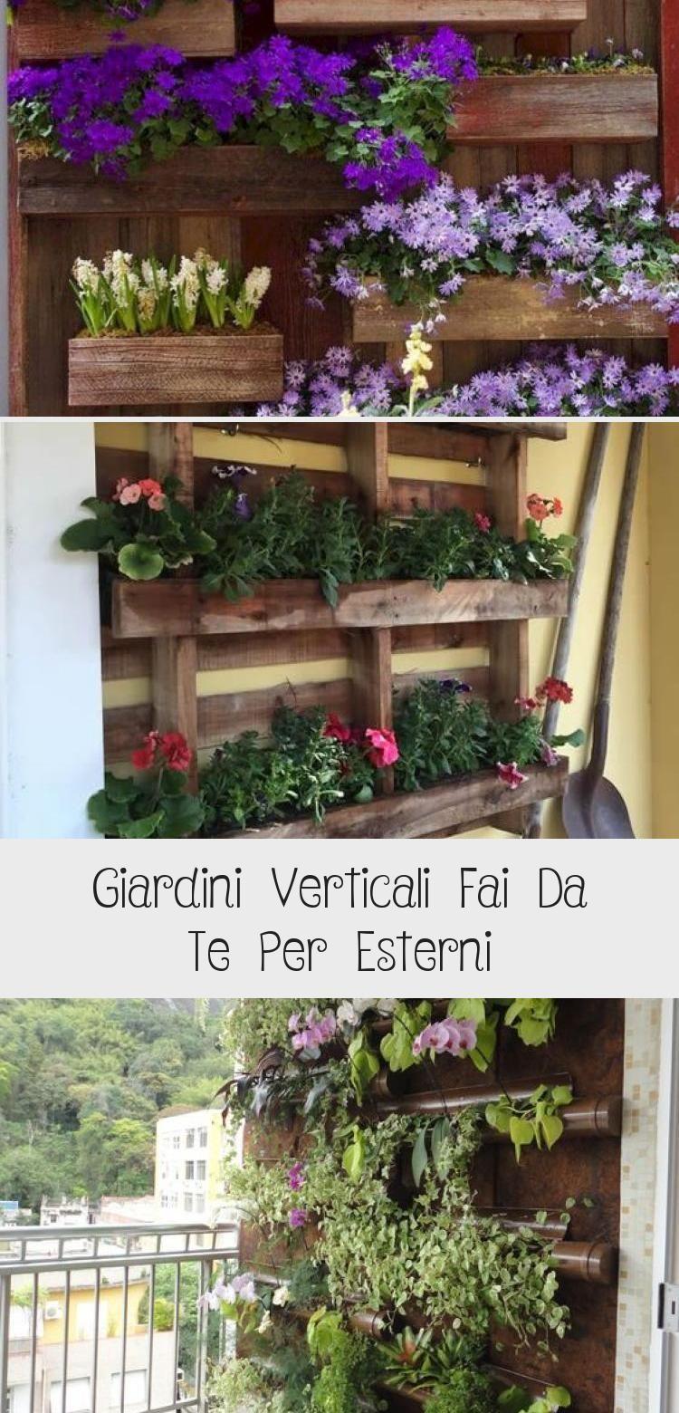 Giardini Verticali Fai Da Te giardini verticali fai da te per esterni in 2020 (with