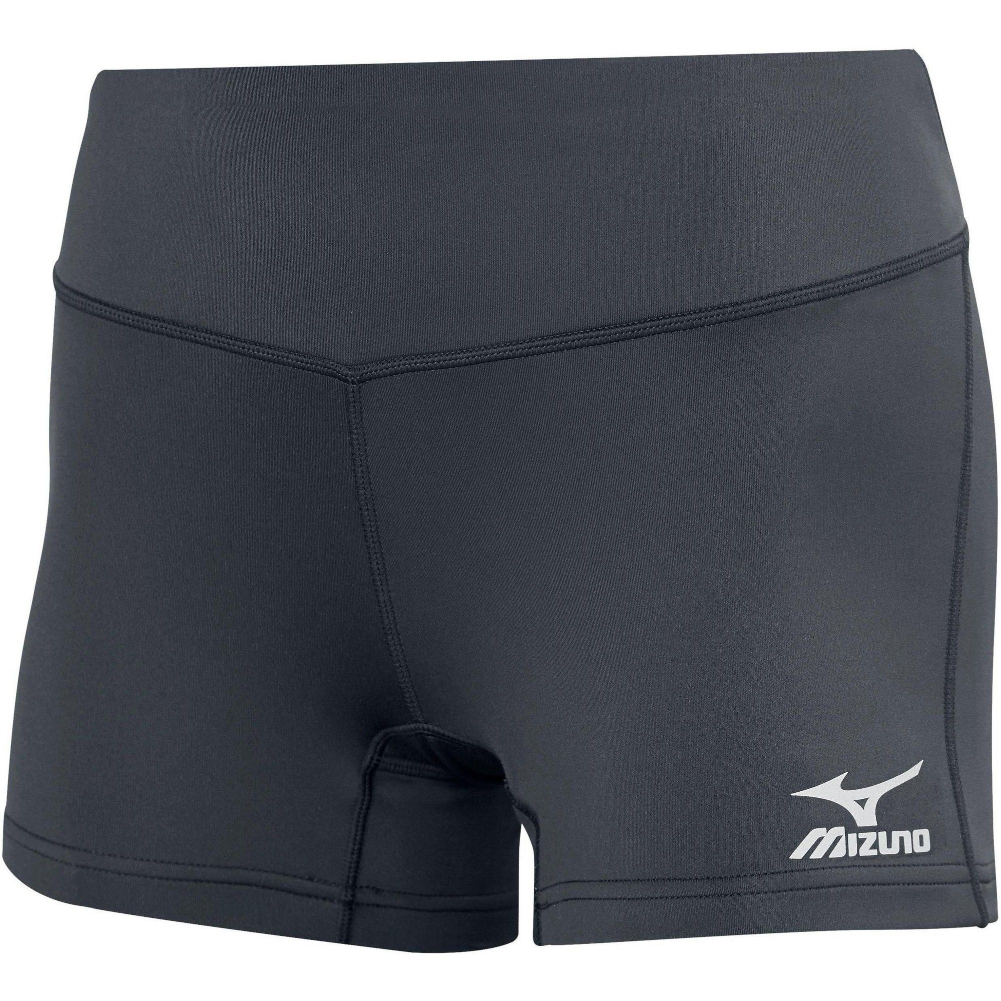 Mizuno Women S Victory 3 5 Inseam Volleyball Shorts Size Extra Large In Color Charcoal Grey 9292 Volleyball Spandex Shorts Volleyball Shorts Volleyball Spandex