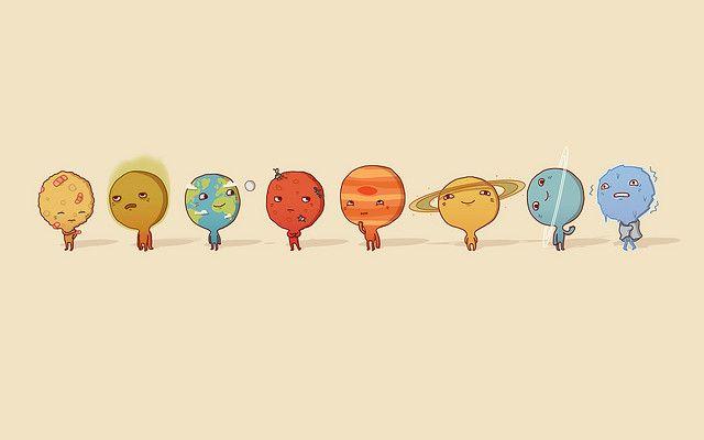 Solar System Desktop Light System Wallpaper Solar System Wallpaper Planet Painting Cute wallpapers for pc