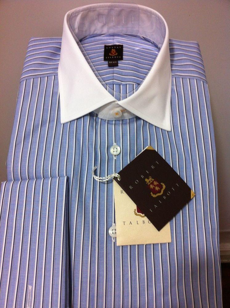 NWT$275  Robert Talbott Hand Made beautiful luxury dress shirt  16 #RobertTalbott #dress