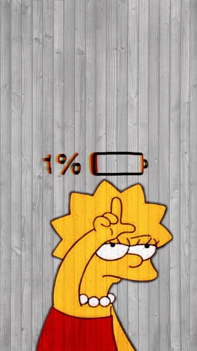 Iphone Wallpaper - Wallpaper lisa Simpson - #iPhon... - #fondecran #iPhon #iPhon #iphone3