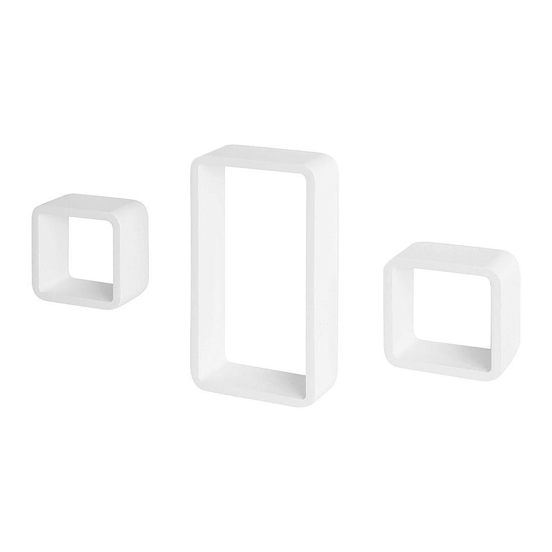 Wandregal-Set Anoka (3er-Set) - Hochglanz Weiß, Fredriks Jetzt bestellen unter: https://moebel.ladendirekt.de/wohnzimmer/regale/?uid=be48151f-999b-55ff-a1b6-5ceaf7c5eb68&utm_source=pinterest&utm_medium=pin&utm_campaign=boards #möbel #fredriks #wohnzimmer #regale